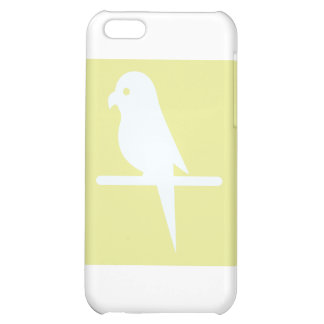 Budgerigar Parrot Bird Icon Case For iPhone 5C