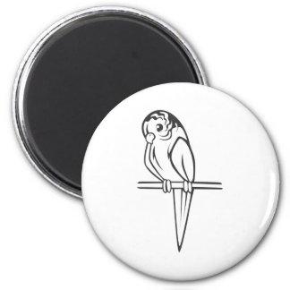 Budgerigar Parrot Bird Refrigerator Magnets