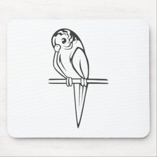 Budgerigar Parrot Bird Mouse Pads