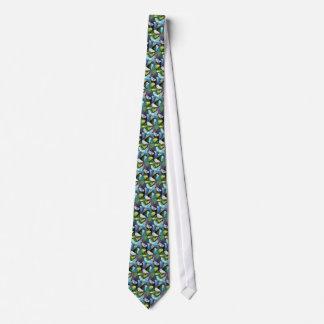 Budgerigar Parrots Tie
