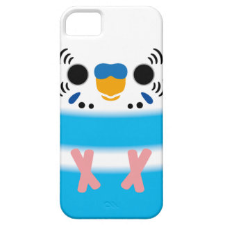 Budgerigar (Skyblue Pied Male) iPhone 5 Cover