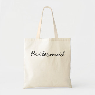 Budget Bridesmaid Tote