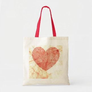 Budget Heart Tote Bag