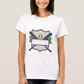 Budget Softball Team Jersey Template T-Shirt