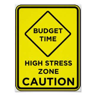 Budget Time Stress - Poster