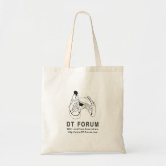 Budget Tote - DT Forum Logo Tote Bags