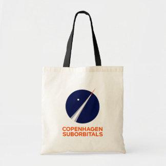 Budget Tote with Copenhagen Suborbitals Logo