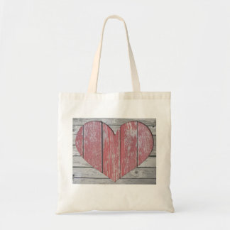 Budget tote with Heart