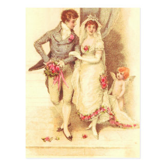 Budget Wedding Invitation Post Card
