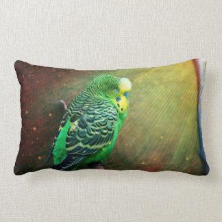 Budgie Bird Throw Cushion