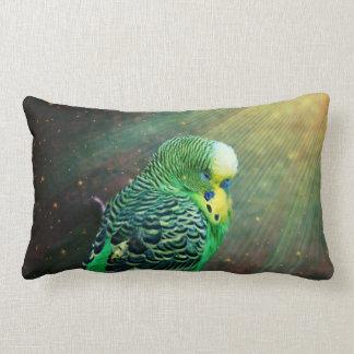 Budgie Bird Throw Cushions
