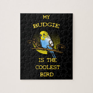 Budgie is the Coolest Bird Jigsaw Puzzle