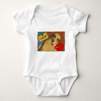 Budgie Love Baby Bodysuit