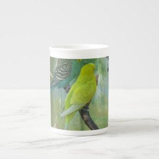 Budgie Porcelain Mugs