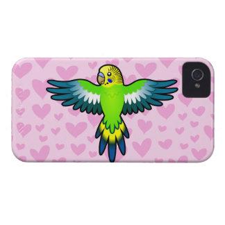 Budgie / Parakeet Love Blackberry Cases