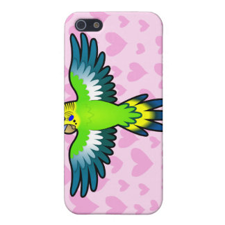 Budgie / Parakeet Love Cover For iPhone 5