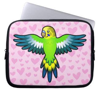 Budgie / Parakeet Love Laptop Computer Sleeves