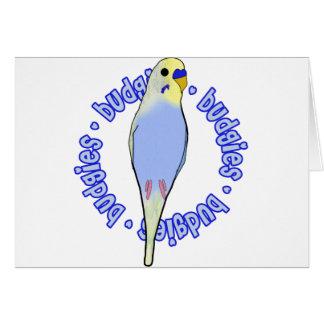 Budgies Budgies Budgies Card