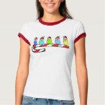 Budgies- Christmas Tee Shirts