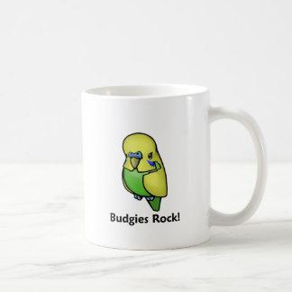 Budgies Rock! Coffee Mug