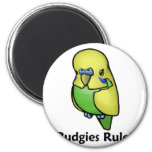 Budgies Rule! Magnet