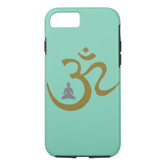 Budh Om Lotus symbol Spiritual apple iphone case