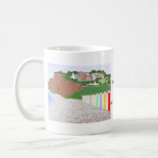 Budleigh Salterton beach huts Mugs