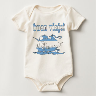 Buen Viaje - Good Trip in Argentine - Vacations Baby Bodysuits