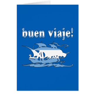 Buen Viaje - Good Trip in Argentine - Vacations Greeting Card