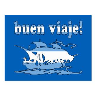Buen Viaje - Good Trip in Argentine - Vacations Postcard