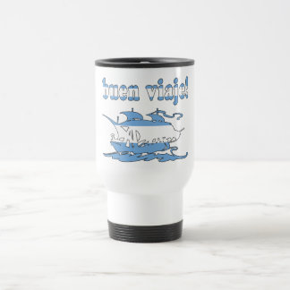 Buen Viaje - Good Trip in Argentine - Vacations Stainless Steel Travel Mug