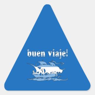Buen Viaje - Good Trip in Argentine - Vacations Triangle Sticker
