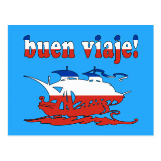 Buen Viaje - Good Trip in Chilean - Vacations Postcard