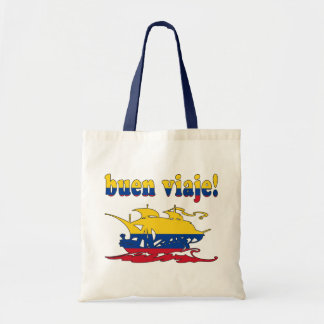 Buen Viaje - Good Trip in Colombian - Vacations Budget Tote Bag