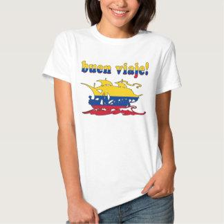 Buen Viaje - Good Trip in Colombian - Vacations T-shirt