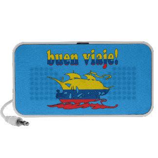 Buen Viaje - Good Trip in Ecuadorian - Vacations Laptop Speaker