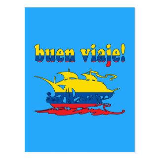Buen Viaje - Good Trip in Ecuadorian - Vacations Postcard