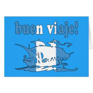Buen Viaje - Good Trip in Guatemalan - Vacations Note Card