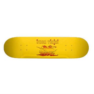 Buen Viaje Good Trip in Spanish Vacations Travel Skateboard