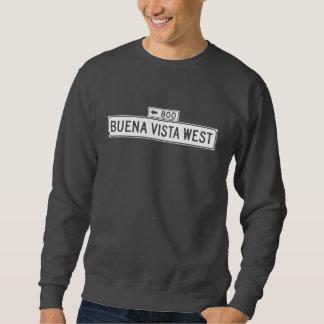 Buena Vista Ave. West, San Francisco Street Sign Sweatshirt
