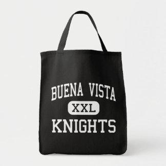 Buena Vista - Knights - High - Saginaw Michigan Canvas Bags
