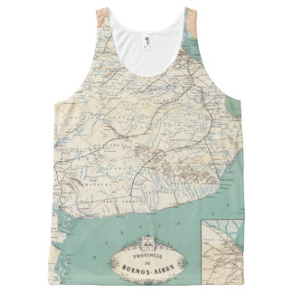 Buenos Aires, Argentina All-Over Print Tank Top