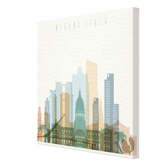 Buenos Aires, Argentina   City Skyline Canvas Print