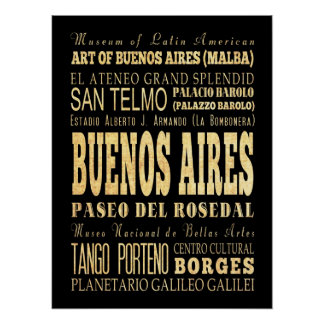 Buenos Aires Argentina Print