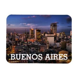 Buenos Aires Desde La Legislatura V Rectangular Photo Magnet