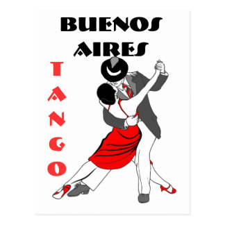 Buenos Aires Tango Post Cards