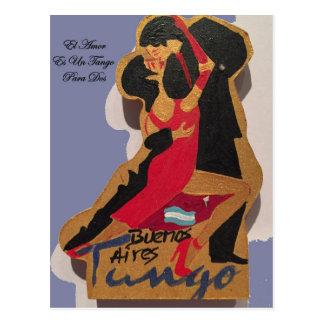 BuenosAires_Tango_Poem Postcard