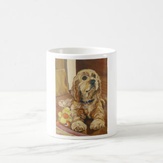 Buff Cocker Spaniel Coffee Mug