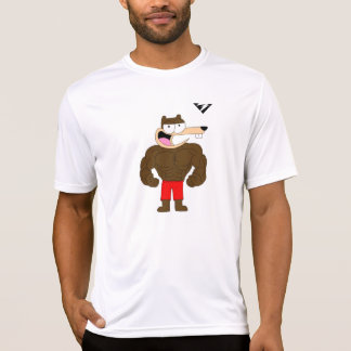 Buff Gophey The Gopher Active Tee