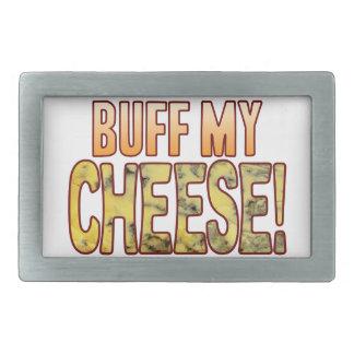 Buff My Blue Cheese Belt Buckle